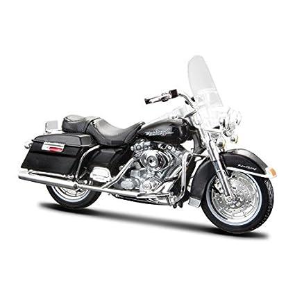 Maisto Harley Davidson 1999 FLHR Road King 1/18 Maquette Moto
