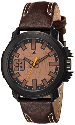 Fastrack-Analog-Brown-Dial-Mens-Watch-38015PL04