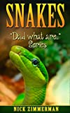 Snakes: Book for Kids with Amazing Snakes Photos (Dad What Are... 3)