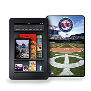 MLB Minnesota Twins Kindle Fire Stadium Collection Baseball Cover by Pangea Brands