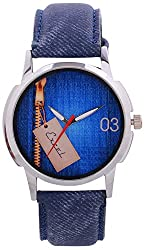 Excel Analogue Blue Dial Men's Watch -AAJ27