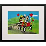 Nifty Nineties (Mickey Mouse and Minney Mouse) - Walt Disney Limited Edition Animation Cel, Framed, DC-MM-09F