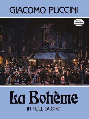La Boheme in Full Score (Dover Music Scores)