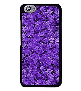 Flowers 2D Hard Polycarbonate Designer Back Case Cover for Micromax Canvas Fire 4 A107