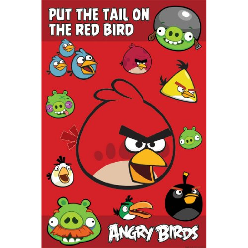 Great Features Of Angry Birds Party Game
