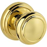 Baldwin 352ATK RDB 3 Alcott Hall/Closet Knob, Polished Brass