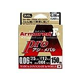 デュエル(DUEL) ARMORED F+ Pro アジ・メバル150M 0.06号 H4091 ライトピンク 0.06号