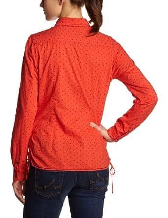 LERROS Damen Bluse 32N2075, Gr. 36, Orange (SPICE ORANGE 341)