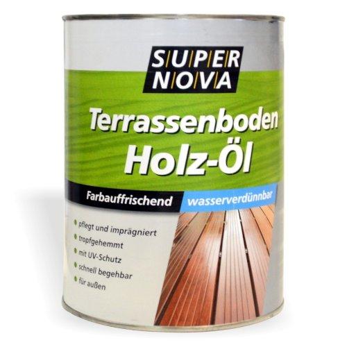 Holzöl 2,5L Bangkirai farbauffrischend Holzpflegeöl Holzpflege Holzschutz