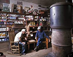 Checker Players, Mast General Store, Valle Crucis, North Carolina - 16x20-inch - Fine-Art-Quality Photographic Print by Carol M. Highsmith