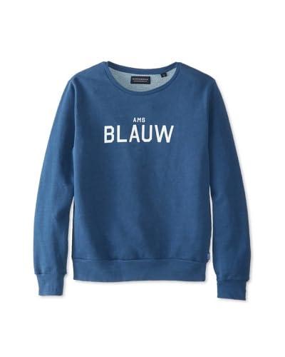 Scotch & Soda Men's AMS Blauw Sweatshirt