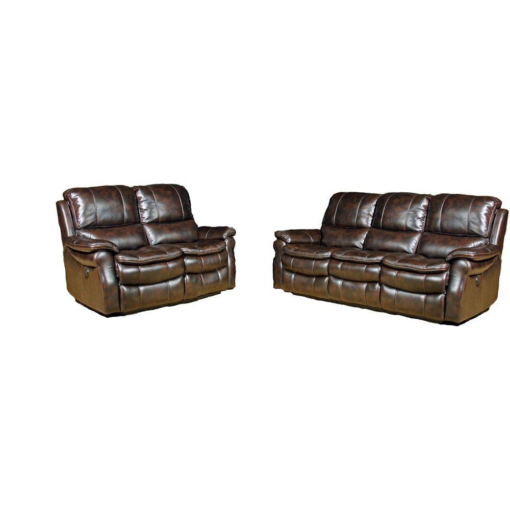 Hanover Napa 2 Piece Reclining Sofa and Reclining Loveseat Set