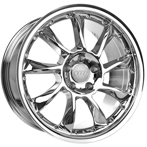 18 Inch Audi Wheels Rims Chrome (set of 4)