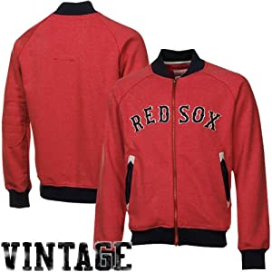 MLB Boston Red Sox Intrasquad Track Jacket Mitchell Ness Cooperstown Mens 5XL by Mitchell & Ness