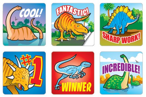 Dinosaurs Motivational Stickers - 1