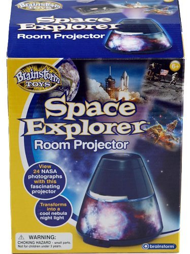 Space Explorer Room Projector And Bedroom Night Light - Brainstorm Toys