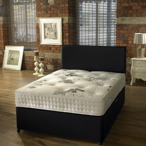 Westminster Beds Windsor Double Divan Bed with 4 Drawers and a firm Luxurious Orthopaedic mattress