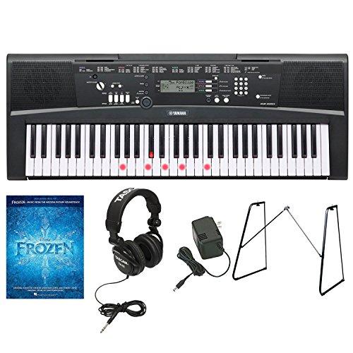 yamaha-ez-220-61-lighted-key-premium-portable-keyboard-w-yamaha-l3c-attachable-keyboard-stand-pa130-