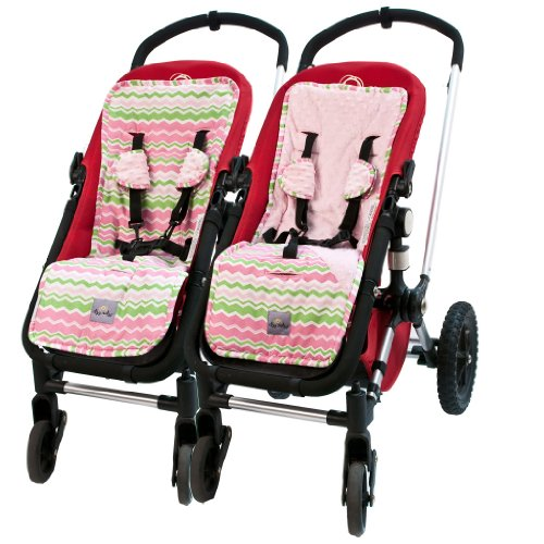 Itzy Ritzy Stroller Liner, Little Miss Zig Zag (Discontinued by Manufacturer)