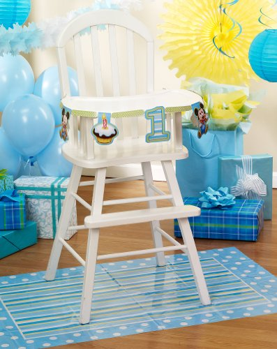 Mickey'S 1St Birthday High Chair Decoration Kit front-1079558