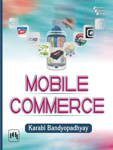 Mobile Commerce, by Karabi Bandyopadhyay