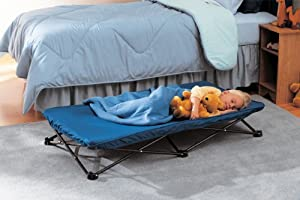 Regalo My Cot Portable Bed, Royal Blue