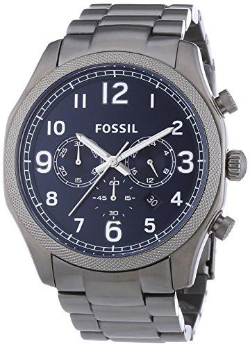 Fossil - Orologio da polso, cronografo al quarzo, acciaio INOX, Uomo
