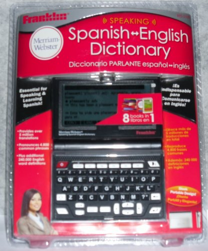 Franklin  Speaking Merriam Webster Spanish English Dictionary (BES-2100)