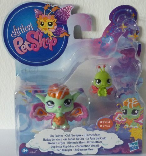 Hasbro-Littlest-Pet-Shop-Fairies-Shimmerin-Sky-Sunscape-Fairy-and-Ladybug-kits-de-figuras-de-juguete-para-nios-Multi