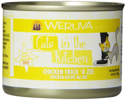 Weruva Cats in the Kitchen Chicken Frick 'A Zee Cat Food (6 oz (24 can case))