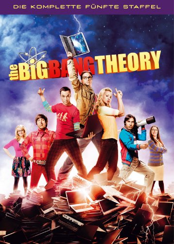 The Big Bang Theory - Die komplette fünfte Staffel [3 DVDs]