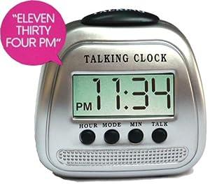 Talking Time Alarm Clock Blind Visually Impaired Amazon