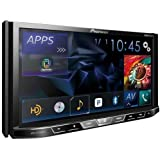 """Pioneer AVH-X5700BHS 7"""" Double-DIN DVD Receiver with Motorized Display, Bluetooth, Siri Eyes Free"""
