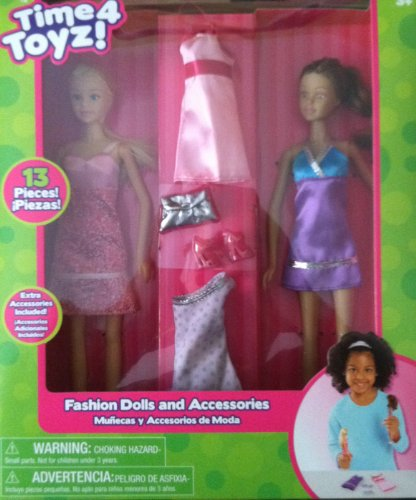 Time 4 Toyz Dolls With Accessories