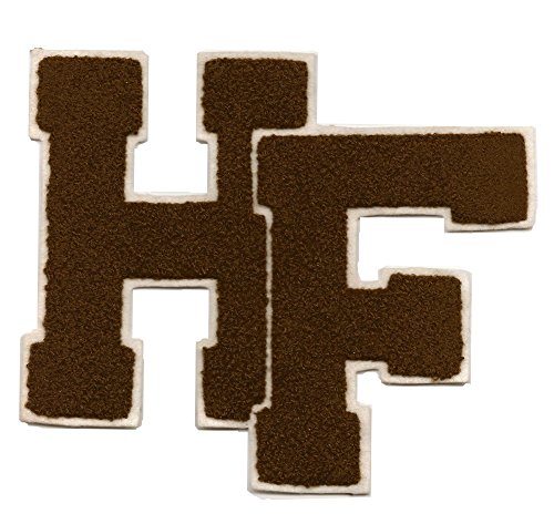 Felt Iron On Letters For Clothing Chenille Jacket Patch Hf Letters Varsity Letterman Large