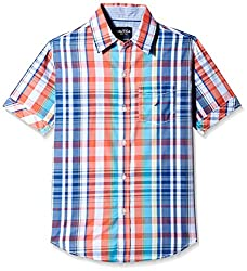 Nautica Kids Boys' Shirt (N474266Q405_Provincial_6 - 7 years)