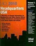 img - for Headquarters USA: A Directory of Contact Information for Headquarters and Other Central Offices of Major Businesses and Organizations in (Headquarters USA (2v.)) book / textbook / text book