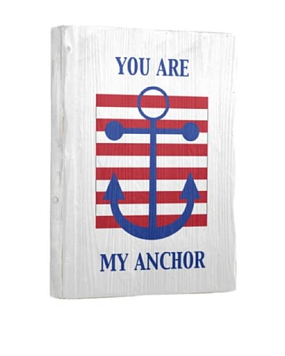 Artehouse You Are My Anchor Reclaimed Wood Sign As You See