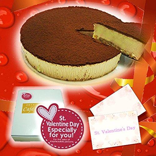 バレンタイン スイーツ 生チョコレアチーズケーキ 【バレンタインデーシール・手紙付き】(チョコレートケーキ)