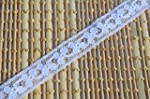 White French Lace Narrow Width 15mm P...