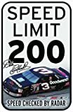 NASCAR Dale Earnhardt 11-by-17 inch Sign