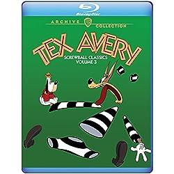 Tex Avery Screwball: Vol 3 [Blu-ray]