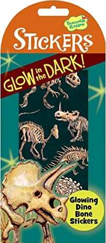 Peaceable Kingdom Glow in the Dark Dino Bones Sticker Pack