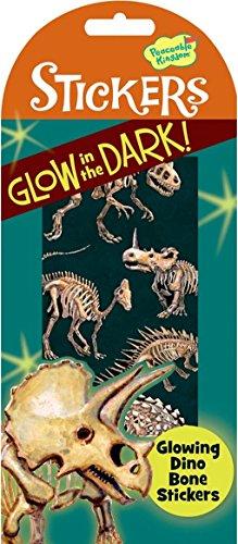 Peaceable Kingdom Glow in the Dark Dino Bones Sticker Pack