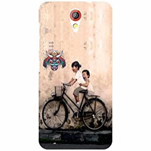 HTC Desire 620 Back cover - Bicycle Ride Designer cases