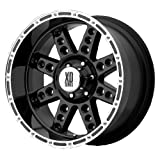 KMC XD Series Diesel (Series XD766) Gloss Black - 20 x 10 Inch Wheel