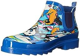 The SAK Women\'s Rhyme Rain Shoe, Aqua Water Nation, 7 M US
