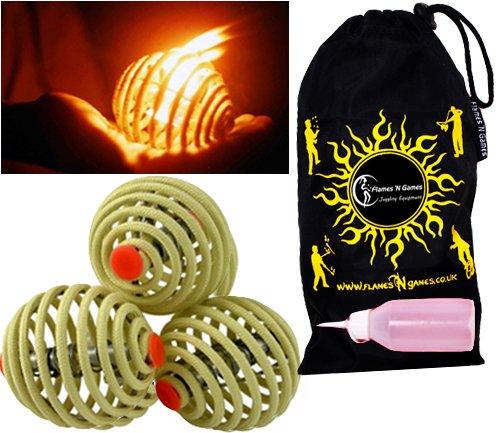 Fyrefli-fire-juggling-balls-80mm-Pro-Fire-Juggling-Ball-Set-of-3-and-fuel-bottle-Travel-Bag