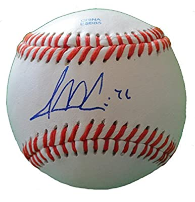 Jesse Crain Autographed ROLB Baseball, Chicago White Sox, Minnesota Twins, Proof Photo