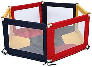 TikkTokk Pokano Fabric Playpen/Mat (Hexagonal, Colourful) by TikkTokk